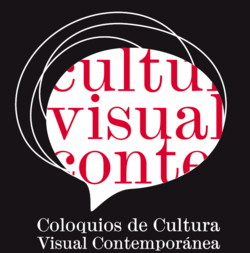 Cartel Coloquios de Cultura Visual Contemporánea