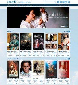Cinemanet | Vista general Cine y Fe