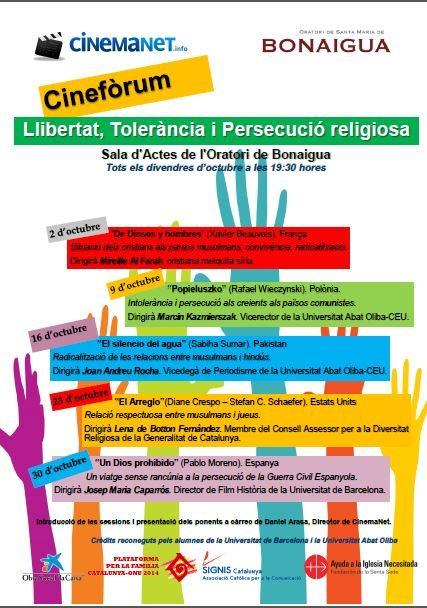 cinemanet | llibertat, tolerancia i persecució religiosa