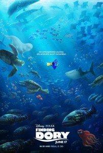 CinemaNet Pixar Buscando a Dory Nemo