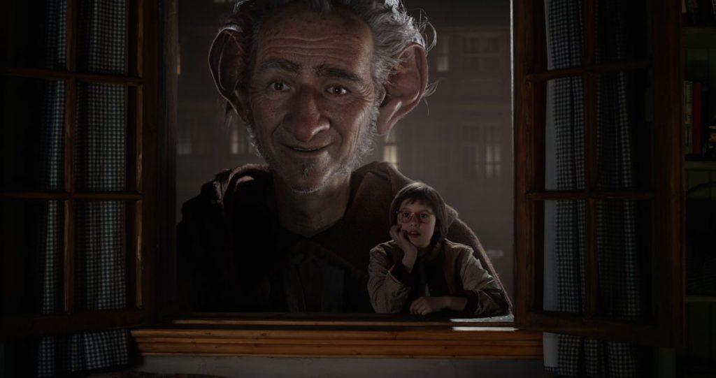 CinemaNet Mi amigo el gigante Spielberg