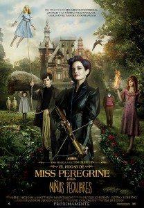 CinemaNet Miss Peregrine niños peculiares Tim Burton
