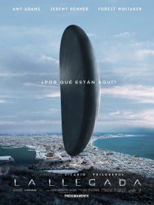 CinemaNet La llegada Amy Adams Denis Villeneuve