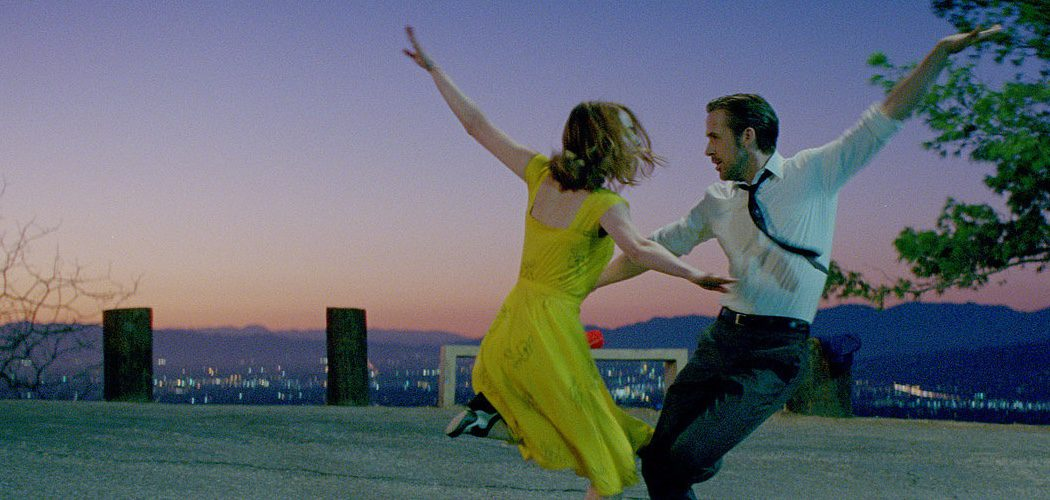 CinemaNet La la land la ciudad de las estrellas Emma Stone Ryan Gosling